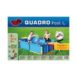 Quadro Spielzeug-Gartenset Quadro Planschbecken, 245 x 125 cm