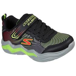 Skechers Kids Blinkschuh ERUPTERS IV Sneaker mit blinkender Sohle schwarz 35