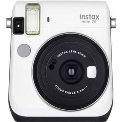 Fujifilm Instax Mini 70 White EX-D Sofortbildkamera Weiß