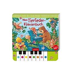 Mein Tierlieder-Klavierbuch  m. Klaviertastatur - Buch