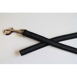 Gummierte Hundeleine | 1,6 x 300 cm lang | ohne Handschlaufe