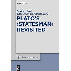Plato's 'Statesman' Revisited - Buch