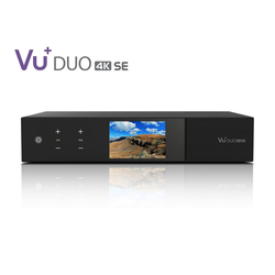 VU+ VU+ Duo 4K SE 1x DVB-S2X FBC Twin Tuner 2 TB HDD Satellitenreceiver