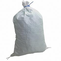 Schwerlastsack Gewebesack Hochwassersack weiß 650 x 1150 mm PP bis 75kg