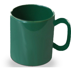 WACA Becher (4-tlg), 325 ml, Kunststoff grün