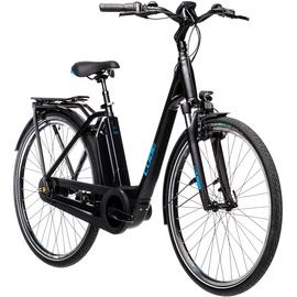 Cube Town RT Hybrid Pro 500 2021 28 Zoll RH 46 cm Easy Entry black'n'blue