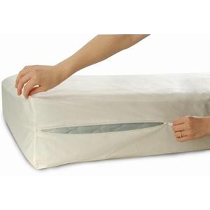 Allersoft Bettwanzen-, Staubmilben- & Allergiekontroll-Matratzenschutzumhüllung aus 100 Prozent Baumwolle, 140 x 200 x 25 cm
