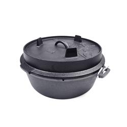 Valhal Outdoor Dutch Oven / Feuertopf 6,1L+2L
