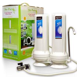 Auftischwasserfilter 2er-System,