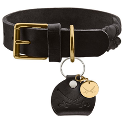 Halsband Sansibar Solid schwarz 50