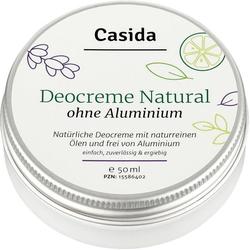 Deocreme ohne Aluminium Natural