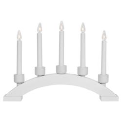 matches21 HOME & HOBBY Kerzenhalter Schlichter Kerzenleuchter Fensterleuchter 5-flammig