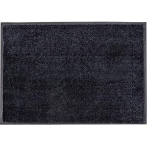Schöner Wohnen Kollektion Fußmatte Miami, Farbe 044 anthrazit-schwarz 67 x 150 cm
