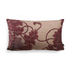 HKliving Kissen Rotes Muster 35x60 cm