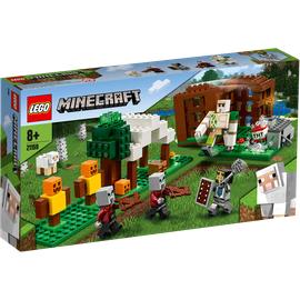 Lego Minecraft Der Plünderer-Außenposten 21159