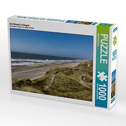 Am Strand in Klegod Lege-Größe 64 x 48 cm Foto-Puzzle Bild von Fotine Puzzle