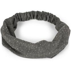styleBREAKER Haarband Haarband mit Strasssteine, 1-tlg., Haarband mit Strasssteine grau