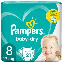 Pampers Baby-Dry 17+ kg 21 St.