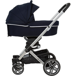 Hartan Kombi-Kinderwagen Vip GTS, mit Falttasche; Made in Germany blau