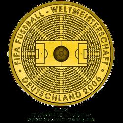 1/2 Unze Gold 100 Euro Deutschland 2005 FIFA WM Deutschland