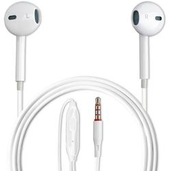 4smarts Kopfhörer In-Ear Stereo Headset Melody Lite 3,5mm Audiokabel weiß