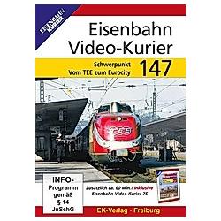 Eisenbahn Video-Kurier 147 - DVD  Filme