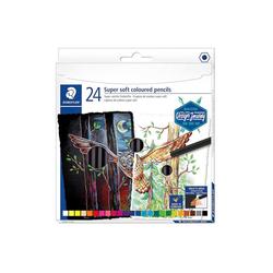 STAEDTLER Buntstift Staedtler Buntstifte Super soft, 24 Farben