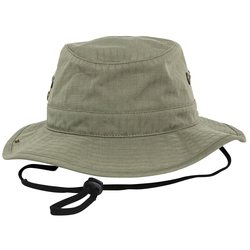 Fishing Hat Ripstop oliv