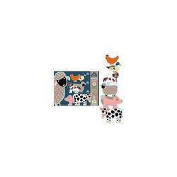 DJECO Puzzle Riesen-Puzzle Bauernhof, 36 Teile, Puzzleteile