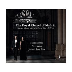 Espada/Ilan/Nereydas - The Royal Chapel of Madrid (CD)
