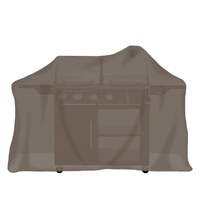 Tepro Gasgrill extra groß, taupe