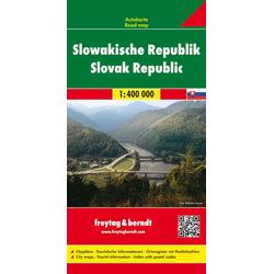 Slowakische Republik 1 : 400 000. Autokarte