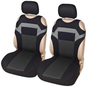 Jatour Sitzbezüge Auto Schonbezüge universal Größe, 2 Teile/Satz Auto-Sitzbezüge Vordersitze Auto-Sitzbezug Set Universal für Fahrersitz und Beifahrer