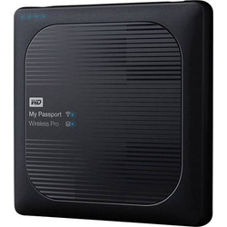 WD My Passport Wireless Pro 4TB WLAN-Festplatte USB 2.0, USB 3.2 Gen 1 (USB 3.0), Kartenleser, WLAN