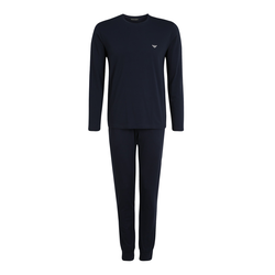 Emporio Armani Herren Pyjama marine, Größe S, 5073517