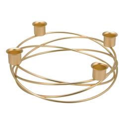 bremermann Kerzenhalter Kerzenhalter gold