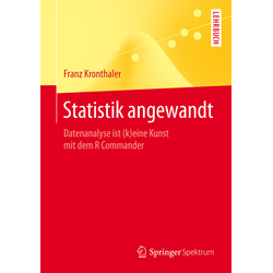 Statistik angewandt als Buch von Franz Kronthaler