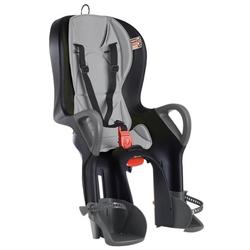 OK Baby Fahrrad-Sicherheitssitz 10+ inkl. Befestigungssystem, black / gray