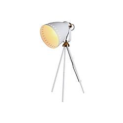 Tripod-Tischlampe (Farbe: weiß)
