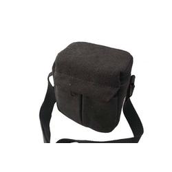 vhbw Universal Tasche Bag Case Gürteltasche grau passend für Kamera, Kompaktkamera, Systemkamera, Bridgekamera.