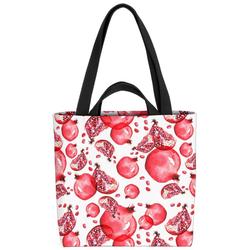 VOID Henkeltasche (1-tlg), Granatäpfel Obst Früchte Essen Vitamine Kochen Äpfel Pflanzen gesund
