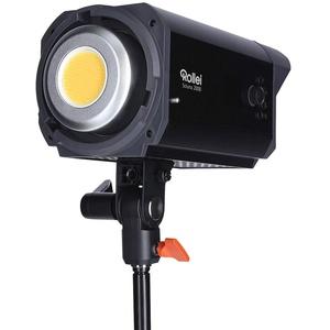 Rollei Soluna 200 BI-Color, LED-Dauerlicht/Video-Leuchte mit 200 Watt und Bowens-Anschluss. App Steuerung und Akku Betrieb möglich.