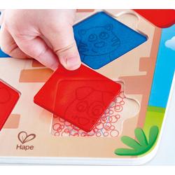 Hape Steckpuzzle Haus-Suchpuzzle, Puzzleteile