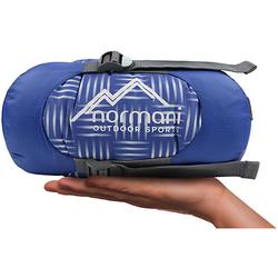 Ultralight-Schlafsack Tinbo Schlafsäcke blau
