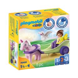 Playmobil® Spielfigur PLAYMOBIL® 70401 Einhornkutsche mit Fee