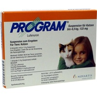 Novartis Program Suspension für Katzen 133 mg 6 St.