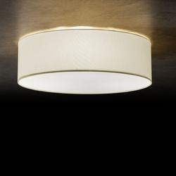 Vita 6 - Ø 100 cm - Wellenoptik weiß
