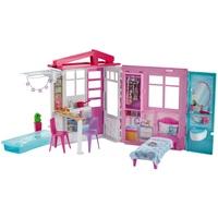 Barbie Ferienhaus mit Möbeln