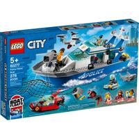 Lego City Polizeiboot 60277