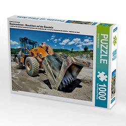 Baumaschinen - Maschinen auf der Baustelle Lege-Größe 64 x 48 cm Foto-Puzzle Bild von Georg Niederkofler Puzzle